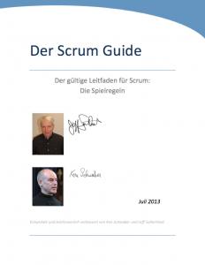 Scrum Guide von Ken Schwaber und Jeff Sutherland