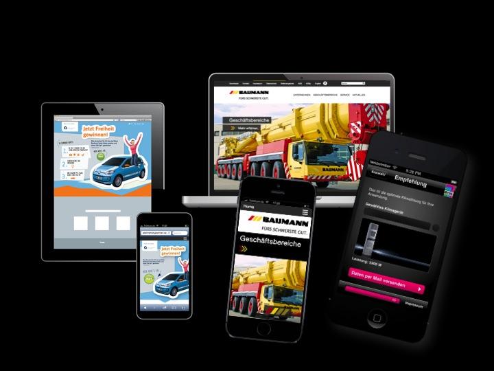 Responsive Design und App
