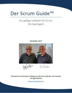 Titel des Scrum Guide